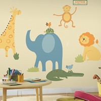 Large Kids Wall Stickers