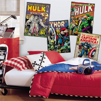Marvel; Comic Book Wall Decals Wall Decals 2017 . Part 64