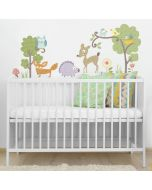 Girls Forest Animals Wall Stickers