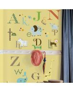 Animals and Alphabet Wall Stickers