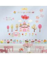 Cupcake Castle Wall Stickers