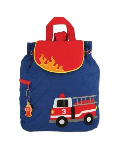 Fire Engine Personalised Backpack