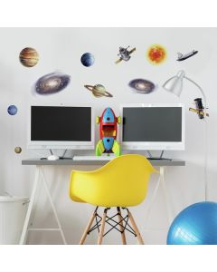 Boys Space Travel Wall Decals