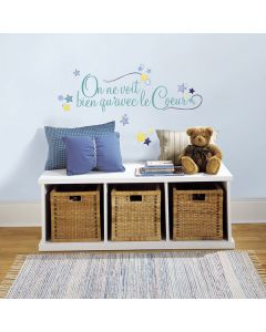 Le Couer Wall Sticker Quote