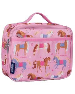 Pink Ponies Lunch Box