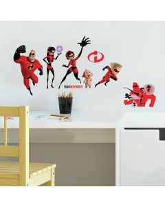 Incredibles 2 Wall Decals