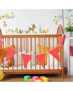 Woodland Fox and Friends Wall Stickers
