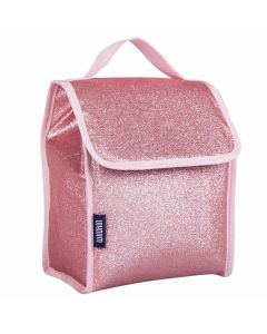 Pink Glitter Lunch Bags