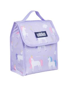 Purple Unicorn Lunch Bag for Kids