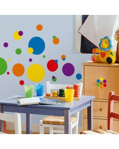 Primary Dots Wall Stickers