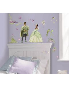Disney Princess & The Frog Wall Stickers