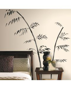 Painted Bamboo Wall Stickers