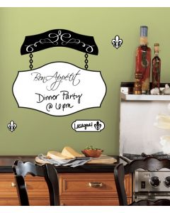 Bon Appetit Dry Erase Wall Stickers by RoomMates