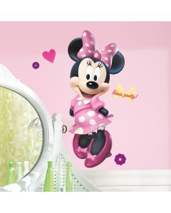 Disney Minnie Mouse Bow-tique Giant Wall Sticker