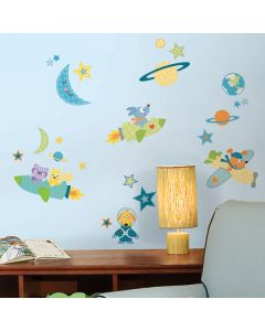 Rocket Dog Wall Stickers by RoomMates