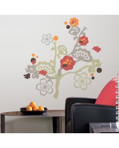 Garden Of Paradise Wall Stickers