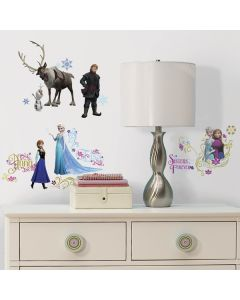 Disney's Frozen Wall Stickers With Glitter