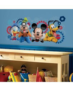 Mickey Mouse Club Capers Giant Wall Stickers