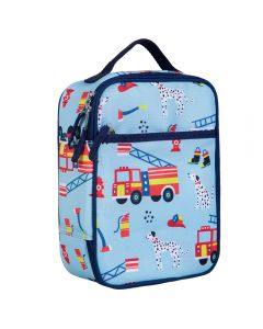 Fire Engine Insulated lunch Bag